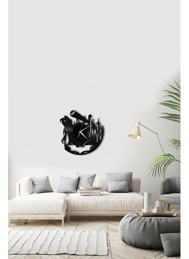 Angemiel Home Batman Pleksi Duvar Saati Siyah